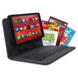 """Chollo - Tablet Android 8"""" con Funda y Teclado + Suscripción a OCU"""