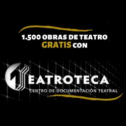 Chollo - Gratis 1.500 Obras de Teatro en Teatroteca