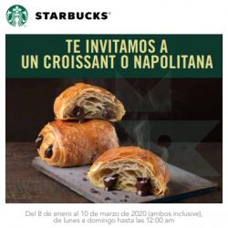 Chollo - Gratis un Croissant o Napolitana en Starbucks