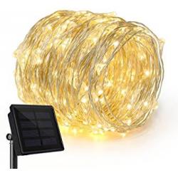 Chollo - Guirnalda 200 LED Solar Ankway (22 metros)