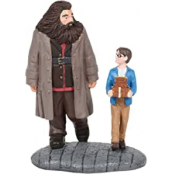 Chollo - Hagrid y Harry Figura decorativa Harry Potter Wizarding Equipment | Department 56 6005619