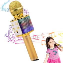 Chollo - Halovie Micrófono Bluetooth Karaoke 4 en 1
