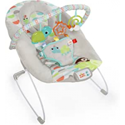 Chollo - Bright Starts Happy Safari 0m+ Hamaca para bebés
