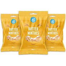 Chollo - Happy Belly Caramelos a la mantequilla y menta Pack 3x 500g