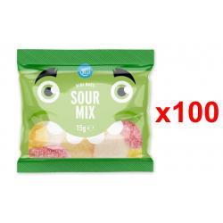 Chollo - Happy Belly Surtido de dulces y ácidos Pack 100x 15g