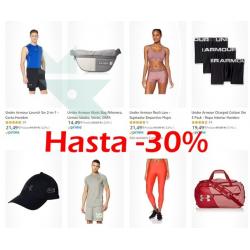 Chollo - Hasta 30% de descuento en productos de deporte Under Armour