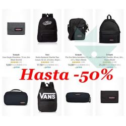 Chollo - Hasta 50% de descuento en mochilas Eastpak y Vans