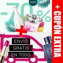 Chollo - Hasta -70% + Cupón -5% + Envío Gratis en Notino