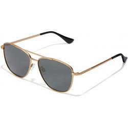 Chollo - Hawkers Lax Polarized Gold Gafas de sol aviador unisex | HLAX20BDMP