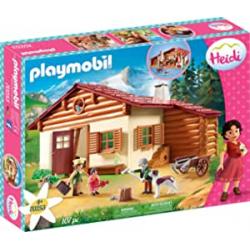 Chollo - Heidi en la Cabaña de los Alpes - Playmobil 70253