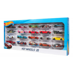 Chollo - Hot Wheels Pack 20 Vehículos Mattel H7045