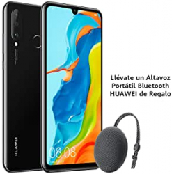 Chollo - Huawei P30 Lite 6GB/256GB + Altavoz Bluetooth CM51