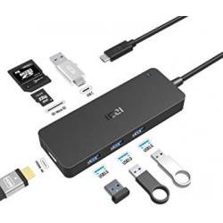 Chollo - Hub USB-C Multipuerto ICZI Izec-A78
