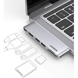 Chollo - Hub USB-C 6 en 1 Ugreen Thunderbolt 100W para MacBook