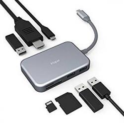 Chollo - Hub USB-C iHaper 7 en 1 con Power Delivery (C003)