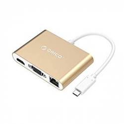 Chollo - Hub USB-C Orico 6 en 1 con Power Delivery (RCNB)