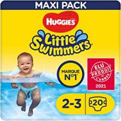Chollo - Huggies Little Swimmers Pañal Bañador desechable Talla 2-3 Pack 20x