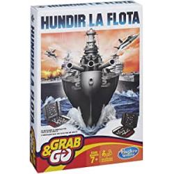 Chollo - Hundir la Flota Viaje Grab & Go (Hasbro Spain B0995175)