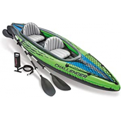Chollo - Intex Challenger K2 Kayak hinchable con 2 remos | 68306NP