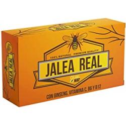 Chollo - Qualnat Jalea Real con Ginseng Rojo, Vitaminas C, B6 y B12 20 ampollas