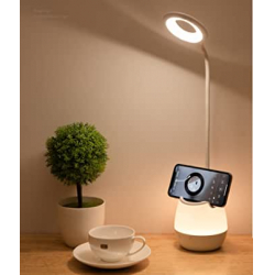 Chollo - JanPraci Lámpara de escritorio LED con soporte
