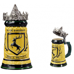 Jarra de Cerámica HBO Game of Thrones Baratheon Stein (650ml)