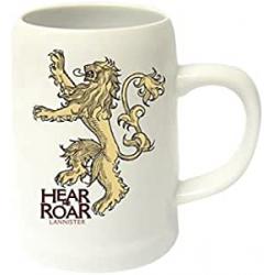 Chollo - Jarra de cerámica Juego de Tronos Hear me Roar Lannister 650ml