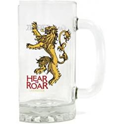 Chollo - Jarra de cerveza Hear me Roar Lannister Juego de Tronos 500ml