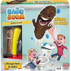 Chollo - Juego Baño Boom Atrapa la Caca Mattel FWW30