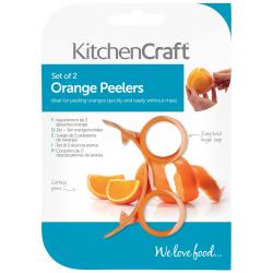 Chollo - Juego de 2 Peladores de naranjas KitchenCraft - KCORANGE