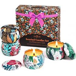 Chollo - Juego de 4 velas perfumadas Anjou 4x100g