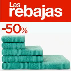 Chollo - Juego de 6 toallas Basics El Corte Inglés