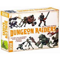 Chollo - Juego de cartas Dungeon Raiders - Devir BGHRAI