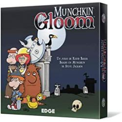 Chollo - Juego de cartas Munchkin Gloom - Edge Entertainment EEAGGL07