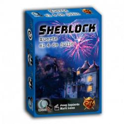 Chollo - Juego de cartas Serie Q Sherlock: Muerte el 4 de julio - GDM Games GDM125