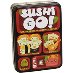 Chollo - Juego de Cartas Sushi Go! Devir (BGSUSHI)