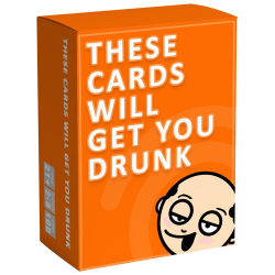 Chollo - Juego de Cartas These Cards Will Get You Drunk
