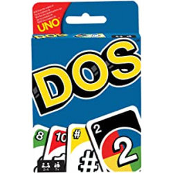 Chollo - Juego de cartas Uno-Dos - Mattel FRM36