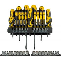 Chollo - Juego de destornilladores y puntas Stanley STHT0-62143 57 uds.