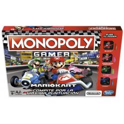 Chollo - Juego de mesa Monopoly Gamer Mario Kart - Hasbro E1870105