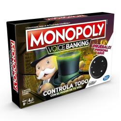 Chollo - Juego de mesa Monopoly Voice Banking - Hasbro E4816SO0