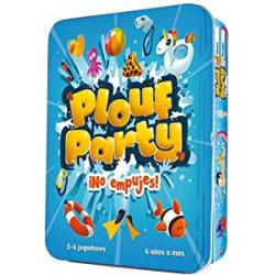 Chollo - Juego de mesa Plouf Party: ¡No empujes! - Cocktail Games / Asmodee CGPP0001