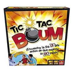 Chollo - Juego de Mesa Tic Tac Boum (Goliath 70438)
