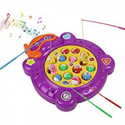 Juego de Pesca Musical para Niños