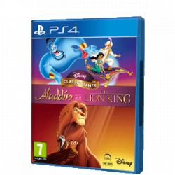 Chollo - Juegos clásicos de Disney: Aladdin y El rey león - PS4 [Versión física]