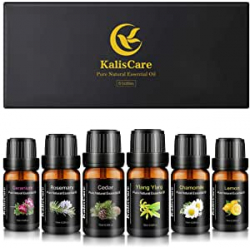 Chollo - KalisCare Aceites esenciales naturales Pack 6x 10ml