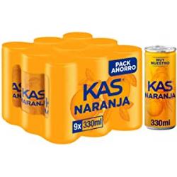 Chollo - KAS Naranja Latas Pack 9x 33cl