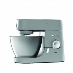 Chollo - Kenwood Robot De Cocina Multifunción Chef KVC3110S. 4,6 L. Bol De Metal. Batidora Varillas, De Vaso y Gancho Amasar. 1000 W