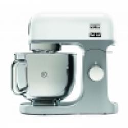 Chollo - Kenwood Robot De Cocina Multifunción Kmix Kmx750wh. Bol Metálico Con Asa De 5 L. Varillas Batidoras, Mezclado K, Gancho Amasar
