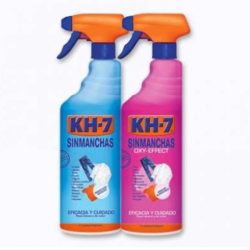 Chollo - KH-7 Quitamanchas Sin Manchas y Oxy Effect ropa blanca y de color spray 2 x 750 ml